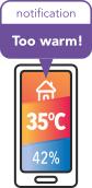Temperatura si umiditate